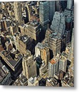 New  York Architecture Metal Print