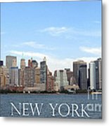 New York As I Saw It In 2008 Metal Print