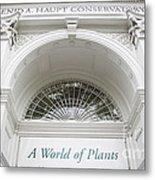 New York Botanical Garden Archway Columns Entrance Architecture Metal Print