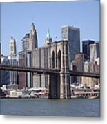 New York Bridge 3 Metal Print