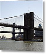 New York Bridge 5 Metal Print