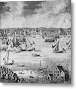 New York City, 1717 Metal Print
