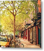 New York City - Autumn In The East Village  Metal Print