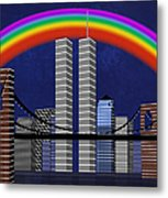 New York City Better Days 2 Metal Print