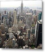New York City Canyons Metal Print