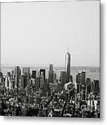 New York City Metal Print by Linda Woods