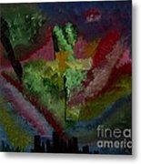 New York City Energy Metal Print