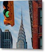 New York City, New York State, United Metal Print