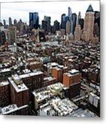 New York City Skyline 20 Metal Print