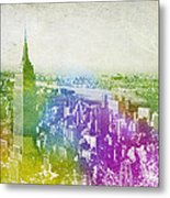 New York City Skyline Metal Print