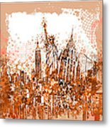 New York City Tribute 4 Metal Print