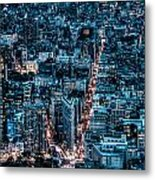 New York City Triptych Part 2 Metal Print