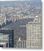 New York City - View From Empire State Building - 121211 Metal Print