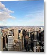 New York City View Metal Print