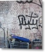 New York City Wall Metal Print