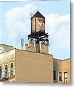New York City Water Tower 4 - Urban Scenes Metal Print