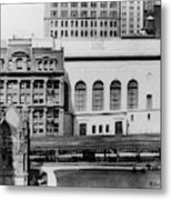 New York Curb Market, 1921 Metal Print