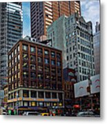 New York Energy Metal Print