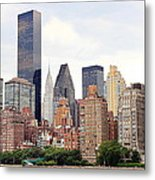 New York From Roosevelt Island Metal Print