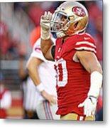 New York Giants V San Francisco 49ers Metal Print