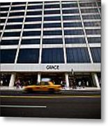 New York Grace Building Metal Print