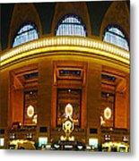 New York - Grand Central Station Metal Print