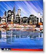 New York Metal Print by Heather Matthews