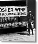 New York Kosher Wine For Sale Metal Print