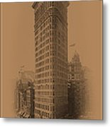 New York Landmarks 3 Metal Print
