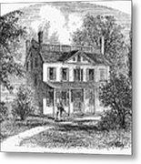 New York: Mansion, 1763 Metal Print