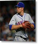 New York Mets V New York Yankees Metal Print