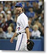 New York Mets V Toronto Blue Jays Metal Print