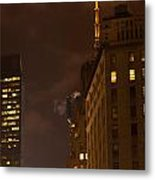 New York Night Metal Print