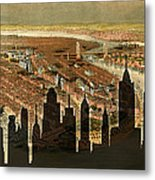New York Old And New Metal Print