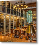 New York Public Library Genealogy Room I Metal Print