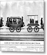 New York Railroad, 1832 Metal Print