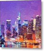 New York City - Skyline Metal Print