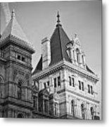 New York State Capitol Building Metal Print