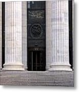 New York State Education Building Entrance Metal Print