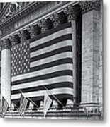 New York Stock Exchange Iv Metal Print