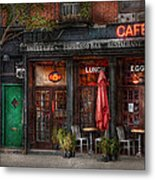 New York - Store - Greenwich Village - Sweet Life Cafe Metal Print