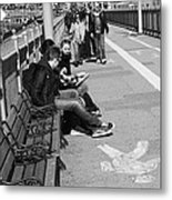 New York Street Photography 15 Metal Print