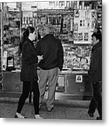 New York Street Photography 18 Metal Print