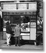 New York Street Photography 4 Metal Print