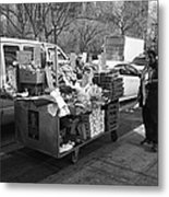 New York Street Photography 5 Metal Print by Frank Romeo