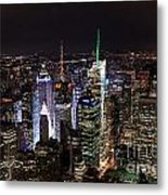 New York Times Square Metal Print