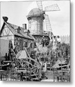 New York Windmill, C1905 Metal Print