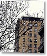 New York Winter Day Metal Print