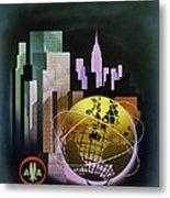 New York Worlds Fair Metal Print