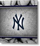 New York Yankees Metal Print by Joe Hamilton